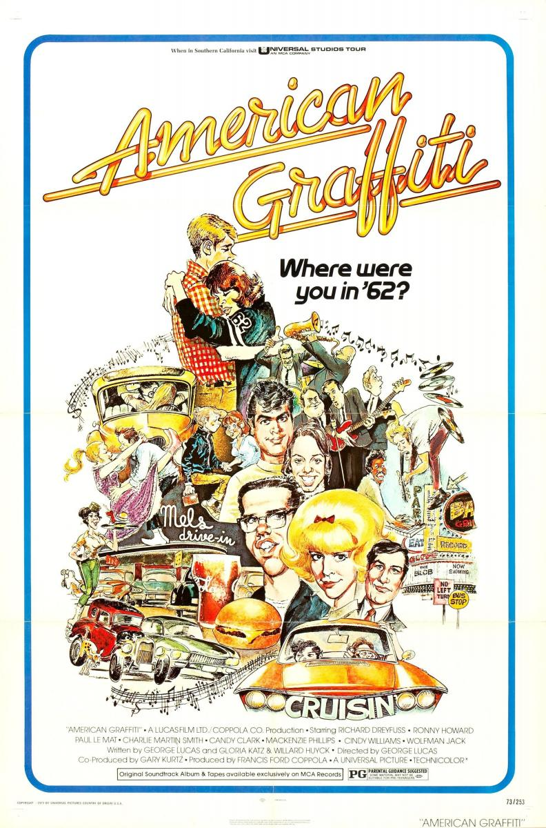 American grafitti - This Academy Award Nominated Classic Voted One Of The American Film Institute S Top 100 Films Of All Time Features The Coming Of Age Of Four Teenagers On